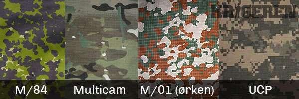 Hjemmeværnet og værnepligtige skal ikke forvente Multicam