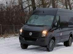 Hjemmeværnets nye indsatskøretøj : VW Crafter 50, 4x4, Heavy Duty