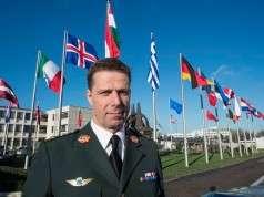 Arkiv billede: Oberstløjtnant Niels Henrik Tønning. Da han var Stabsofficer Plans & Policy ved NATOs internationale militære stab