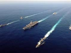 US Navy battle group