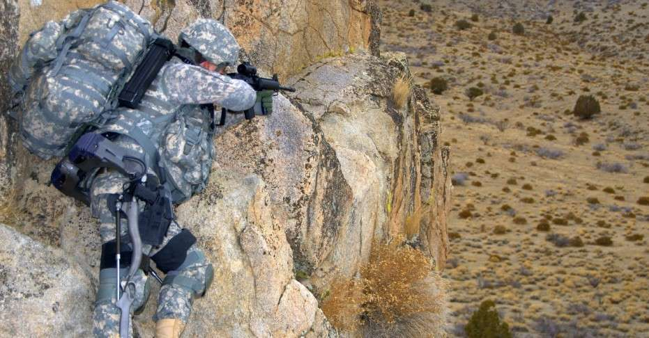 Fra 2009 første test af exoskeleton