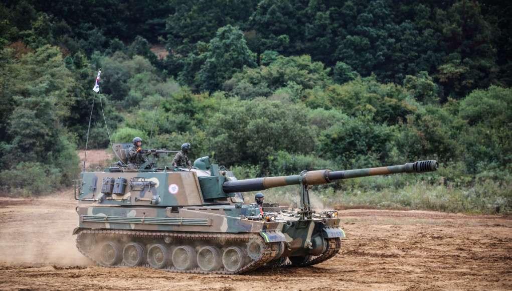K9 Thunder fra Hanwha Techwin (Sydkorea) Foto: Krigeren.dk