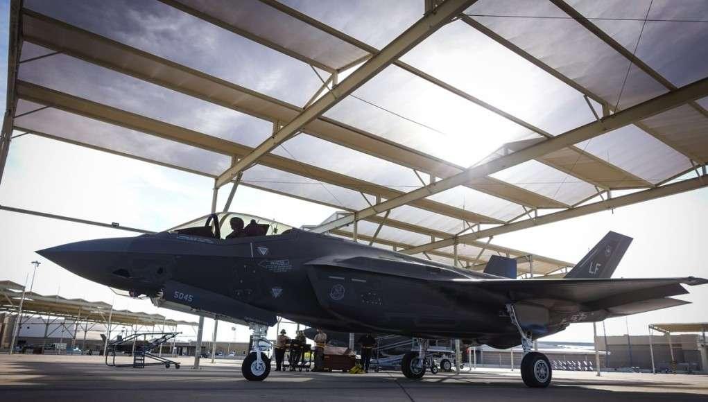 F-35 Joint Strike Fighter Foto: C. Sundsdal - krigeren,.dk