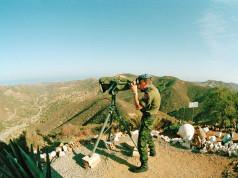 Dansk FN soldat 1973 Cypern. Den blodigste mission for danske FN soldater. 24 danskere mistede livet på Cypern.