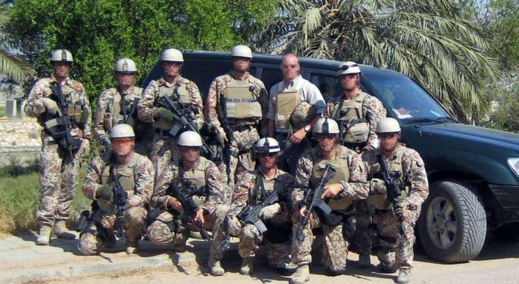 Størstedelen af hold 6, Protection Team - PT Bashra (2006) bestod af personel fra SSR (dengang: Patruljekompagniet HOK) som var blevet uddannet til opgaven af Jægerkorpset.