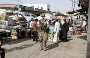 Dansk soldat i Irak 2004