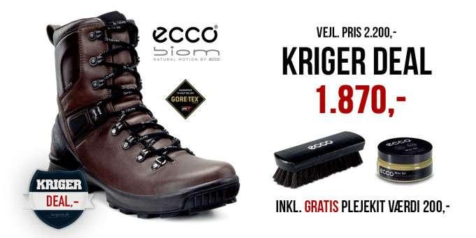 Ecco biom hike - Ecco militærstøvle