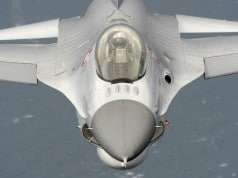 Dansk F-16. FOTO: Flyvertaktisk Kommando