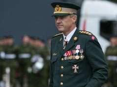 Forsvarschef Peter Bartram. Foto: krigeren.dk/ C. Sundsdal