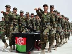 Afghan National Army officers Foto: Staff Sgt. Bradley Lail (U.S. armed forces)