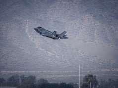 F-35 takeoff. Foto : Krigeren.dk