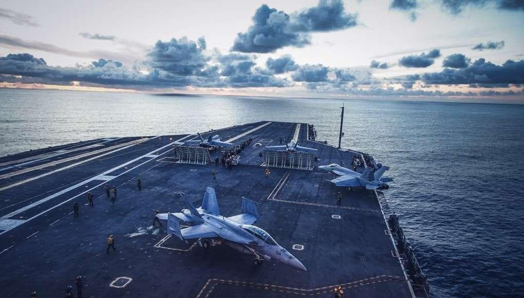 USS Carl Vinson. Foto Chr. Sundsdal - Krigeren.dk