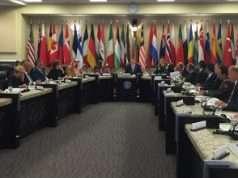 Foto: Forsvarsministeriet Forsvarsministre fra koalitionens kernelande mødtes idag i Washington D.C.