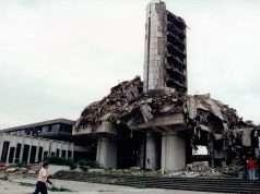 Foto fra den danske indsats Balkan 1996. Forsvarsgalleriet.