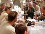 H.M. Dronningen Margrethe II, ISAF 11 Camp Price. Foto: Forsvarsgalleriet