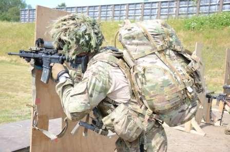 Forsvarets nye rygsæk M17