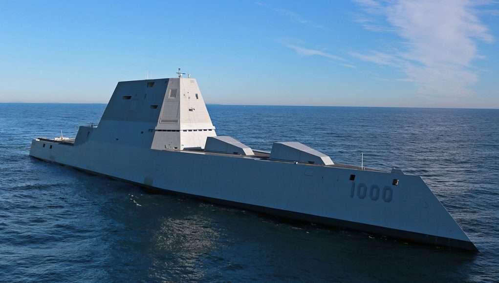 USS Zumwalt - U.S. Navy photo