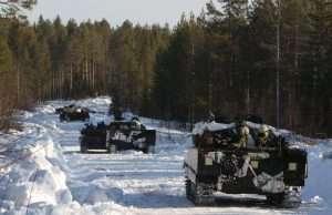 Arkivfoto: Vintersol 2016. Foto: Jesper Sundstrom/Forsvarsmakten