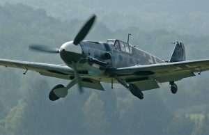 Flyet der blev fundet i weekenden ligner dette licensbygget Messerschmitt Bf 109 G-2.