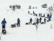I dec. 2016 drog de skadede veteraner på en træningstur til Norge sammen. Foto: Brian Mouridsen