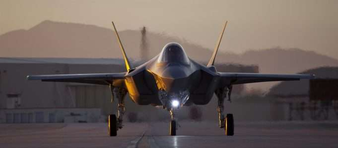 F-35. Foto: Forsvaret.no