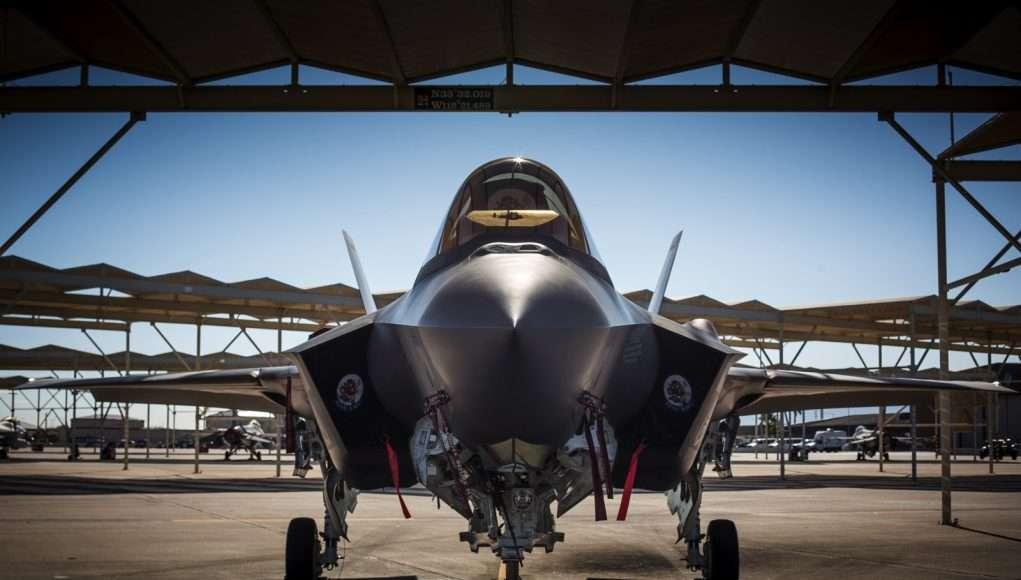 F-35 på Luke Air force Base, Arizona. USA. Foto: C. Sundsdal