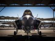 F-35 på Luke Air force Base, Arizona. USA. Foto: C. Sundsdal